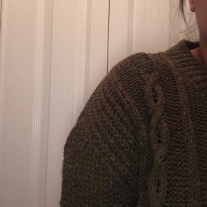 Lucky Brand Sweaters - Olive distressed sweater